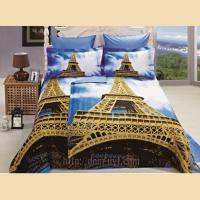 Постельное белье Arya сатин 3D Eifel tower